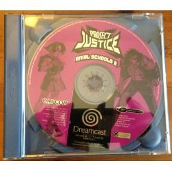 PROJECT JUSTICE : RIVAL SCHOOLS 2 DC Dreamcast - Usado, falta caratula de papel