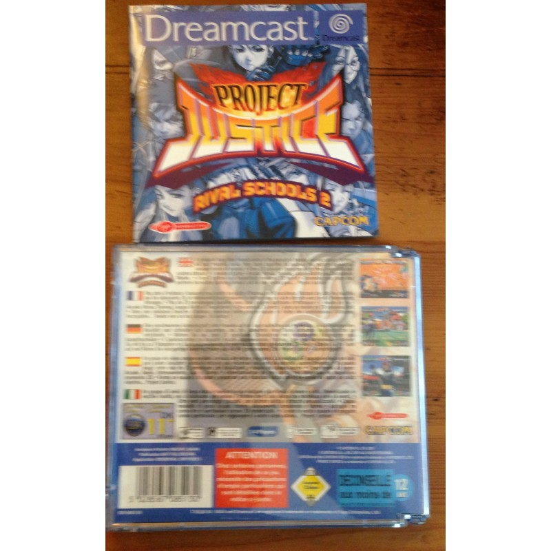 project justice dreamcast