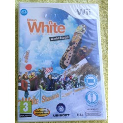 SHAUN WHITE SNOWBOARDING : WORLD STAGE Nintendo Wii - Nuevo