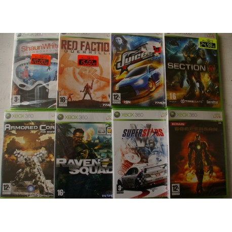Comprar Lote De Xbox 360 Juiced 2 Bomberman Red Faction Raven Squad