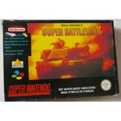 SUPER BATTLETANK Super Nintendo - Usado, sin manual