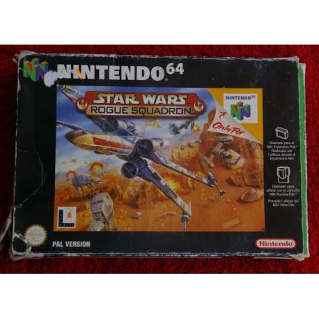 Comprar Juego De Nintendo 64 Star Wars Rogue Squadron