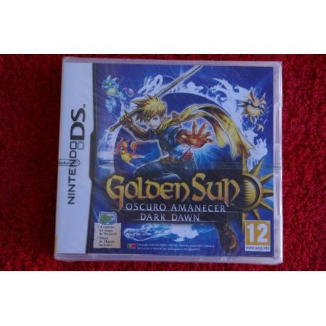 comprar golden sun oscuro amanecer ds