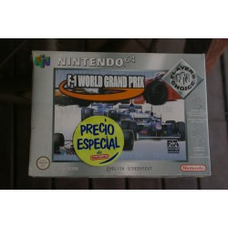 F-1 WORLD GRAND PRIX Player Choice Nintendo 64 - Nuevo Precintado