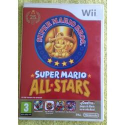 SUPER MARIO ALL-STARS Nintendo Wii - Usado, completo