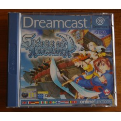 SKIES of ARCADIA DC Dreamcast - Usado, completo Pal