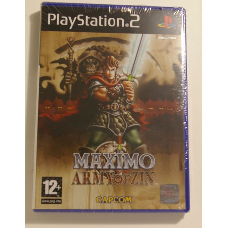 MAXIMO vs ARMY of ZIN PS2 - Nuevo Precintado