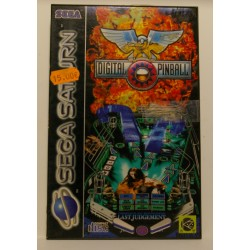 DIGITAL PINBALL -Sega Saturn - usado, completo