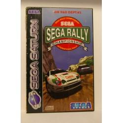 SEGA RALLY - Sega Saturn - Usado