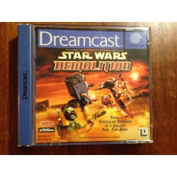 STAR WARS DEMOLITION - Dreamcast - usado, completo