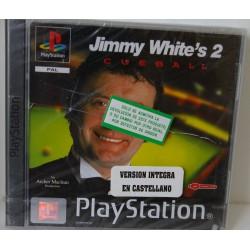 JIMMY WHITHE´S 2 : CUEBALL PSX -Nuevo precintado. Caja rota