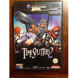 TIMESPLITTERS 2 Game Cube - Usado completo
