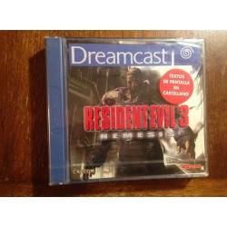 RESIDENT EVIL 3 DREAMCAST DC - Nuevo Precintado