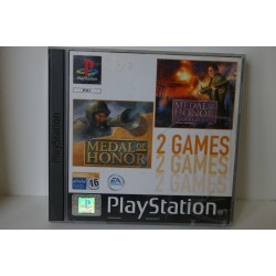 MEDAL OF HONOR PACK PSX -Usado, 2 cd´s