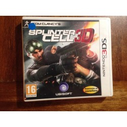 TOM CLANCY´S SPLINTER CELL 3D - Nintendo 3DS . Usado, completo