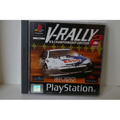 V-RALLY 2 PSX -Usado, con manual