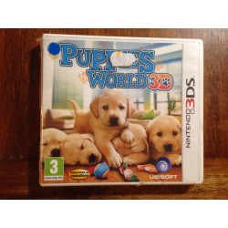 PUPPIES WORLD 3D NINTENDO DS - Nuevo Precintado