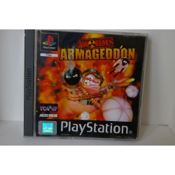 WORMS ARMAGEDDON PSX -Usado, con manual