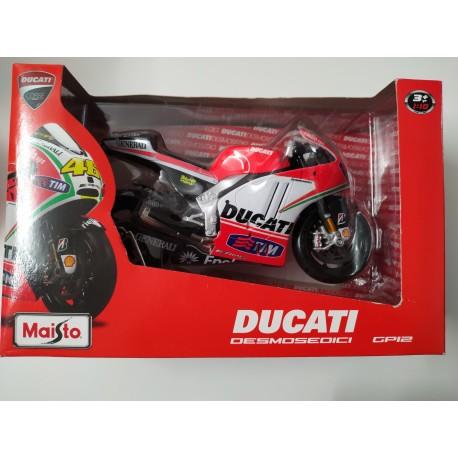Moto DUCATI GP12 Valentino Rossi - NUEVA