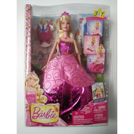 Barbie Escuela de Princesas - NUEVA IMPECABLE