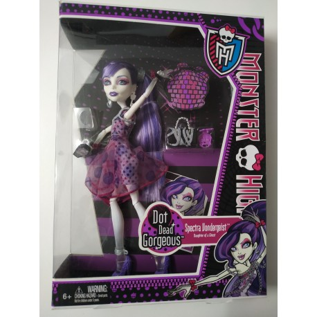Monster High - Spectra Vondergeist Diario Secreto- NUEVO