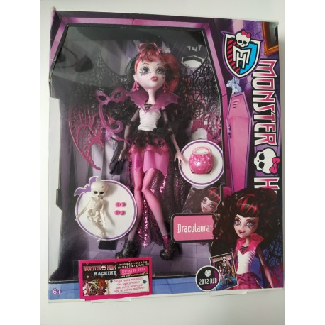 Monster High Draculaura - Ghouls rule. NUEVA