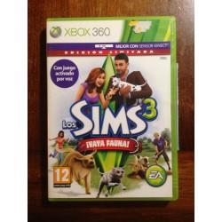 LOS SIMS 3 VAYA FAUNA XBOX 360 - Usado, completo