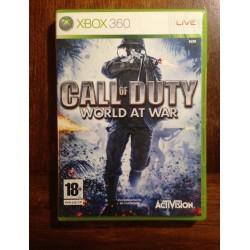 CALL of DUTY WORLD at WAR XBOX 360 - Usado, completo