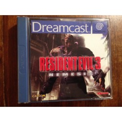 RESIDENT EVIL 3 Dreamcast DC -Usado, cd impecable **
