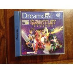 GAUNTLET LEGENDS Dreamcast - usado, completo