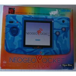 CONSOLA NEO GEO POCKET COLOR AQUA BLUE -Usada