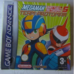 MEGAMAN BATTLE NETWORK 5 TEAM :PROTOMAN - GAME BOY ADVANCE -Nuevo