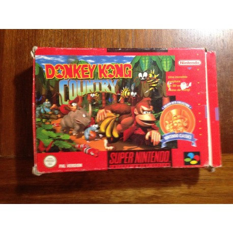 Donkey Kong Country - Super Nintendo - Usado, con manual
