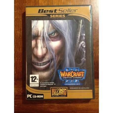 WARCRAFT III EXPANSION SET PC - Usado, completo