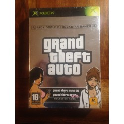 GRAND THEFT AUTO PACKDOBLE XBOX - Nuevo Precintado