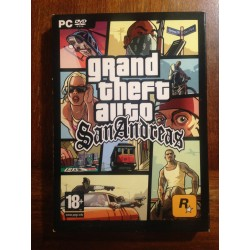 GRAND THEFT AUTO SAN ANDREAS PC - Usado, completo