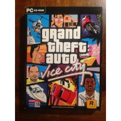 GRAND THEFT AUTO VICE CITY PC - Usado, completo