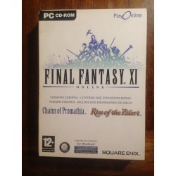 FINAL FANTASY XI ONLINE PC - Usado, completo