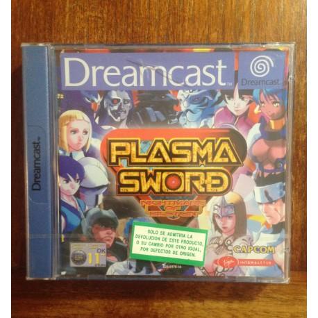 PLASMA SWORD DREAMCAST DC -Nuevo Precintado