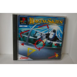 RAGING SKIES PSX -Usado, con manual