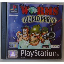 WORMS WORLD PARTY PSX - Usado, con manual