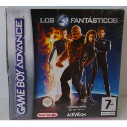 LOS 4 FANTASTICOS GAME BOY ADVANCE - Nuevo Precintado