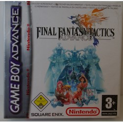 FINAL FANTASY TACTICS ADVANCE GAME BOY ADVANCE - Nuevo
