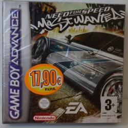 NEED FOR SPEED MOST WANTED GAME BOY ADVANCE - Nuevo