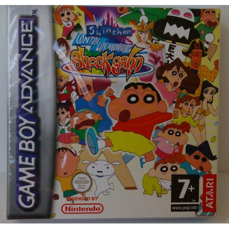 SHINCHAN CONTRA LOS MUÑECOS DE SHOCK GAHN GAME BOY ADVANCED -Nuevo