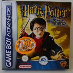 HARRY POTTER Y LA CAMARA SECRETA GAME BOY ADVANCE - Nuevo