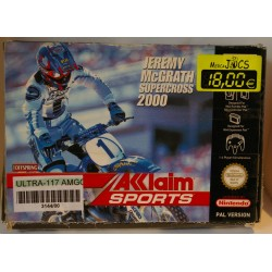 JEREMY Mc GRATH SUPERCROSS 2000 NINTENDO 64 - Usado
