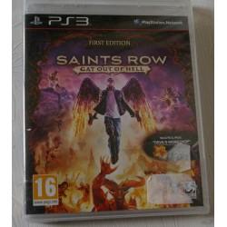 SAINT ROW Cat Out of Hell PS3 - Nuevo Precintado **