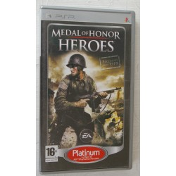 MEDAL OF HONOR HEROES PSP - Usado, con manual