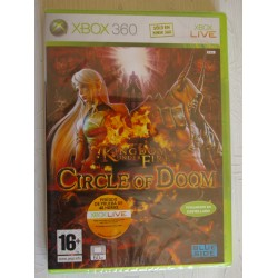 KINGDOM UNDER FIRE CIRCLE OF DOOM XBOX 360 - Nuevo Precintado